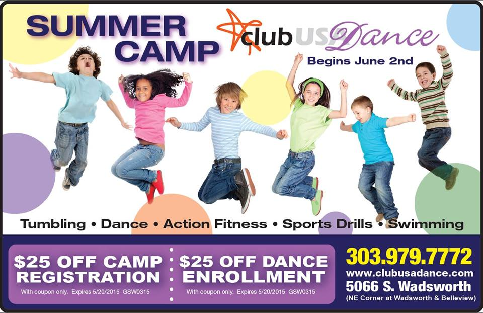Kids Summer Camp at Club USA Dance Littleton CO