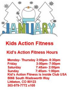 january kids action fitness