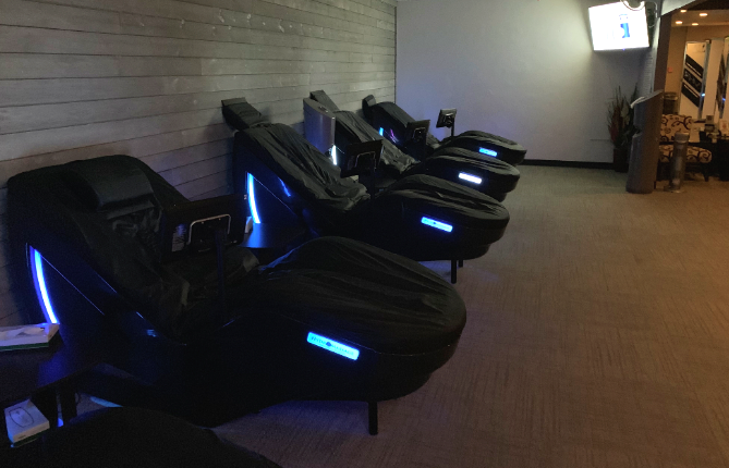 Gym with Hydromassage