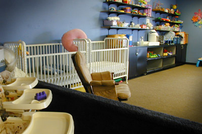 Fitness clubs with childcare